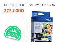 Mực in phun Brother LC563BK